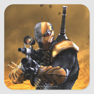 Deathstroke Square Stickers