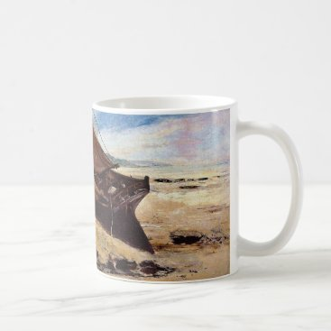 Beach Themed Deauville Beach 1866 Coffee Mug