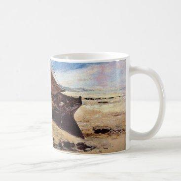 Beach Themed Deauville Beach 1866 Coffee Mug