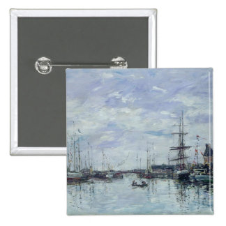 Deauville, the Dock, 1892 Button