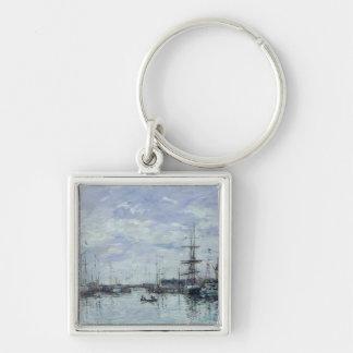 Deauville, the Dock, 1892 Keychain