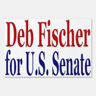 DEB Fischer para la muestra de la yarda del senado
