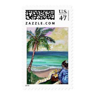 deb lei maker postage stamp