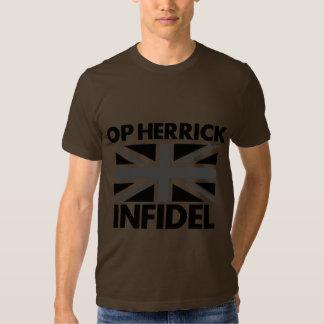 DEBACLE UK ARMY INFIDEL HERRICK T SHIRT