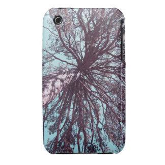 Debajo de árbol funda para iPhone 3 de Case-Mate