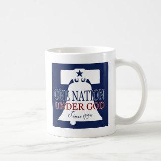 Debajo de dios desde 1954 taza de café