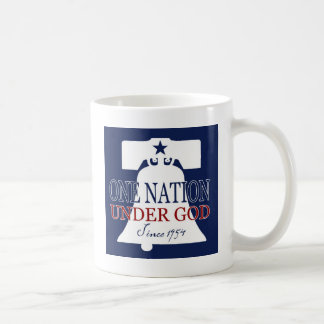 Debajo de dios desde 1954 tazas de café