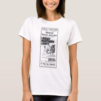 Debajo de la camiseta 1920 del anuncio de la