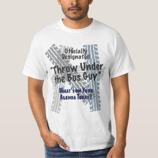 Debajo de la camiseta del valor del individuo del poleras
