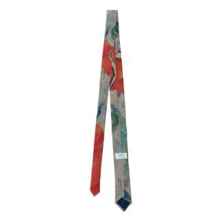 """""""Debajo de la corbata flaca del diseño original"""