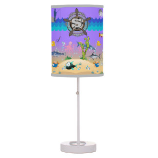 Debajo de la lámpara de la historia del océano
