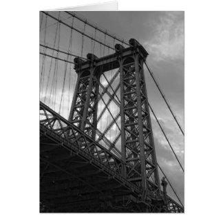 Debajo de la Puente-Nueva York ciudad de Tarjeta Pequeña