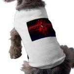 Debajo de la ropa de madera camisetas de perrito