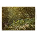 Debajo de las hojas del muelle por Doyle, hadas Tarjeta De Felicitación