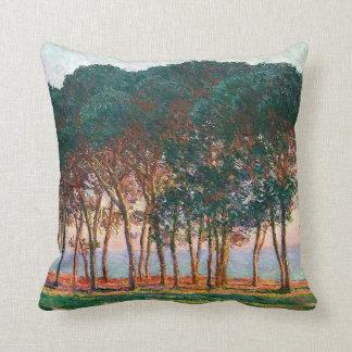 Debajo de los árboles de pino - almohada de MoJo d