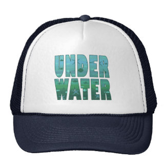 Debajo del agua gorro de camionero