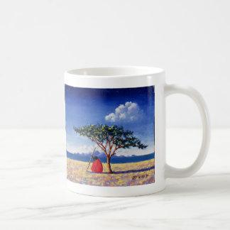 Debajo del árbol 1991 del acacia taza clásica