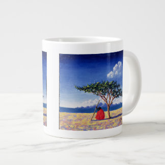 Debajo del árbol 1991 del acacia taza grande
