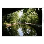 Debajo del canal Notecard de Llangollen del puente Felicitaciones