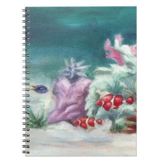 Debajo del cuaderno del mar