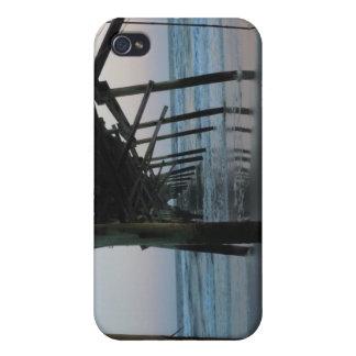 Debajo del embarcadero - isla del roble Carolina iPhone 4/4S Fundas