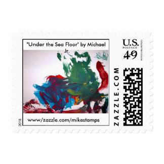 """""""Debajo del fondo marino"""" por Michael Sello Postal"""