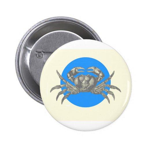 Debajo del mar: Adorno del cangrejo Pins