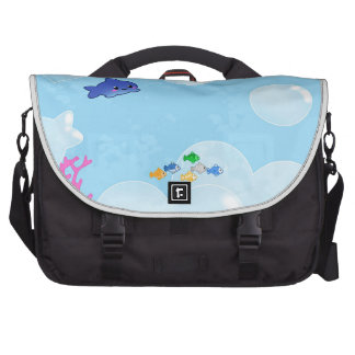 Debajo del mar bolsas para portatil