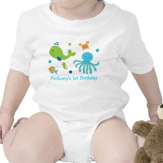 Debajo del mar camiseta personalizada