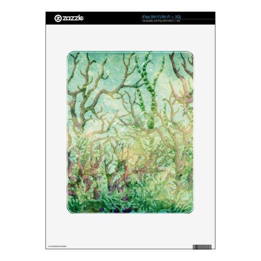 Debajo del mar:  Filón tropical coralino Skin Para El iPad