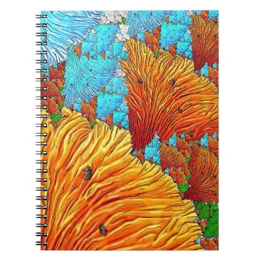 Debajo del mar notebook