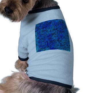 debajo del microscopio, azul ropa de mascota