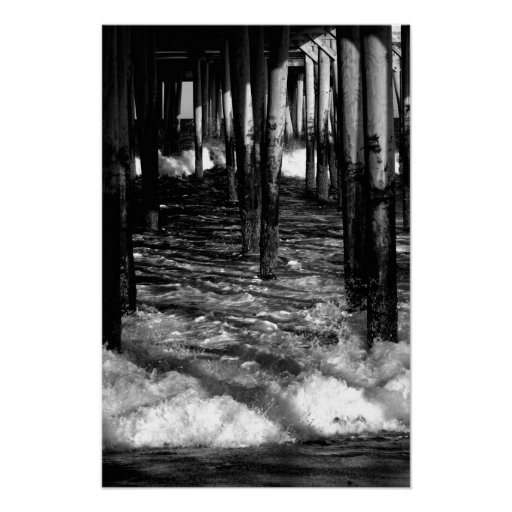 Debajo del paseo marítimo póster