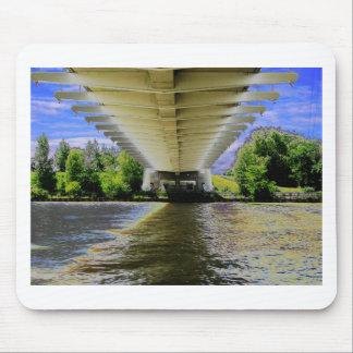 DEBAJO del puente de la playa de Sunnyside en la Tapetes De Raton