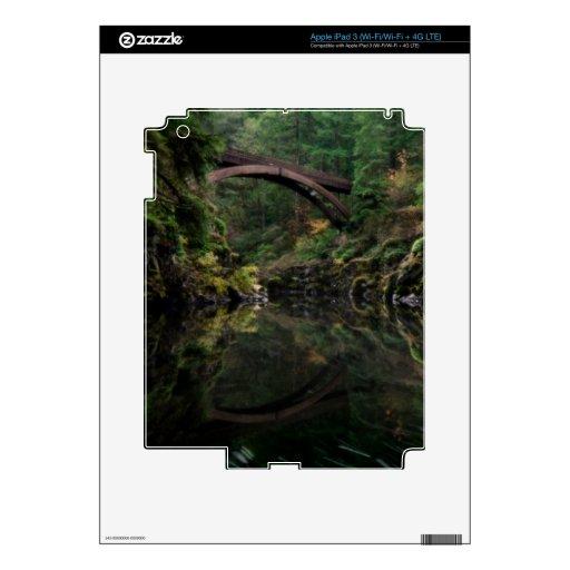 Debajo del puente iPad 3 pegatinas skins