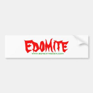 Debajo edición del pegatina de Eden - de Edomite 1 Pegatina Para Auto