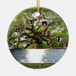 DeBarge Family Tree Specialty Items Ceramic Ornament