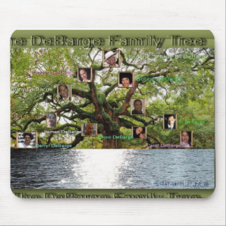 DeBarge Family Tree Specialty Items Mouse Pad