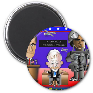 Debate 3 War and Peace 2 Inch Round Magnet