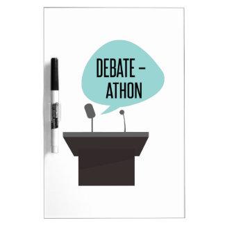 Debate - Athon Dry-Erase Whiteboards
