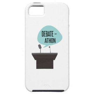 Debate - Athon iPhone 5 Cover