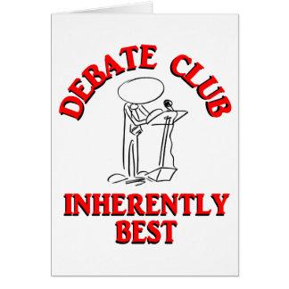 Debate Club Inherently Best Card