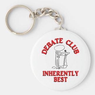 Debate Club Inherently Best Keychain