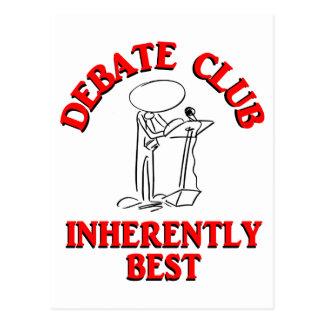Debate Club Inherently Best Postcard