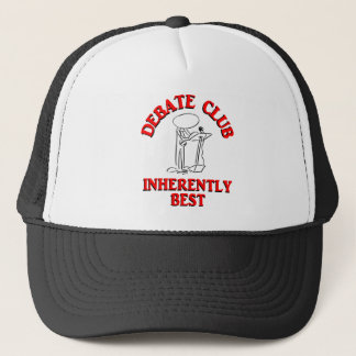 Debate Club Inherently Best Trucker Hat