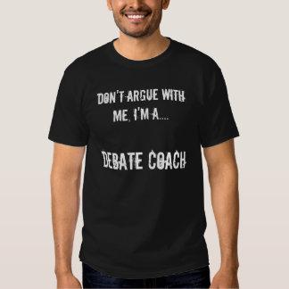 Debate Coach Tees