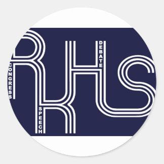 Debate/Congress/Speech Product Round Sticker