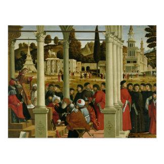 Debate of St. Stephen Postcard