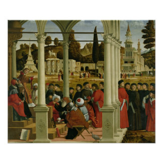 Debate of St. Stephen Poster