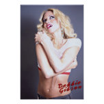 Debbie Gibson Pin-up Poster